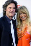 Kurt Russell and Goldie Hwn Royalty Free Stock Photos