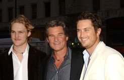 Kurt Russell, Oliver Hudson Stock Photography