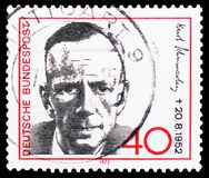 Kurt Schumacher (1895-1952), político democrático social, serie, circa 1972 fotografía de archivo libre de regalías