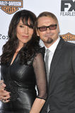 Kurt Sutter & Katey Sagal Royalty Free Stock Photo