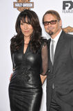 Kurt Sutter & Katey Sagal Royalty Free Stock Images