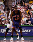 Kurt Thomas, los New York Knicks Foto de archivo