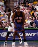 Kurt Thomas, New York Knicks. New York Knicks power forward Kurt Thomas #40. (Image from a color slide Stock Photo