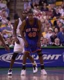 Kurt Thomas. New York Knicks star Kurt Thomas.  Image taken from color slide Royalty Free Stock Photo
