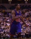 Kurt Thomas. New York Knicks star Kurt Thomas.  Image taken from color slide Royalty Free Stock Image