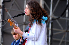 Kurt Vile performs at Heineken Primavera Sound 2013 Royalty Free Stock Photography