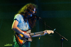 Kurt Vile & the Violators band performs at FIB Royalty Free Stock Photography