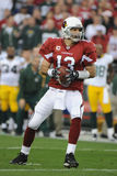 Kurt Warner. Of the Arizona's Cardinals had one of his best days as NFL Quarterback in leading the Arizona Cardinals to overtime win over the Green Bay Packers Royalty Free Stock Images