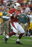 Kurt Warner. Of the Arizona's Cardinals had one of his best days as NFL Quarterback in leading the Arizona Cardinals to overtime win over the Green Bay Packers Stock Photos