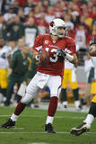 Kurt Warner. Of the Arizona's Cardinals had one of his best days as NFL Quarterback in leading the Arizona Cardinals to overtime win over the Green Bay Packers Stock Photo