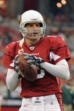 Kurt Warner Quarterback per gli Arizona Cardinals Fotografie Stock Libere da Diritti