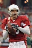 Kurt Warner Quarterback voor de Arizona Cardinals Royalty-vrije Stock Foto's