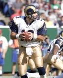 Kurt Warner. St. Louis Rams QB Kurt Warner.  (image taken from color slide Stock Image