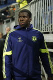Kurt Zouma FC Schalke v FC Chelsea 8eme Final Champion League Royalty Free Stock Photography