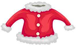 kurtka Santa royalty ilustracja
