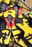 kurtki życia kolor żółty Zdjęcia Stock
