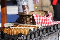 kurtos κέικ υποστήριξης Στοκ εικόνες με δικαίωμα ελεύθερης χρήσης