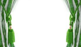 kurtyna antyczny styl Zdjęcie Royalty Free