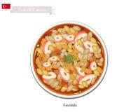 Kuru Fasulye or Traditional Turkey White Bean Soup Royalty Free Stock Photos