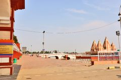 Kurukshetra και Brahma Sarovar στοκ εικόνα με δικαίωμα ελεύθερης χρήσης