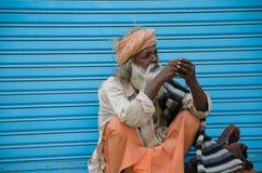KURUKSHETRA, HARYANA, INDIEN Lizenzfreie Stockfotografie