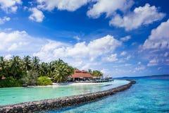 Kurumba maldives Royalty Free Stock Photos