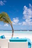 Kurumba, spiaggia delle Maldive Immagine Stock