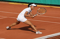 Kurumi NARA (JPN) at Roland Garros 2010 Stock Photography