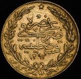 Kurush Turkey Gold Coin Stockbild