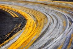 Kurve in der Straße Lizenzfreie Stockfotos