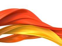 Kurven der abstrakten Nachrichten Lizenzfreie Stockfotos