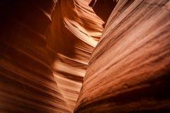 Kurven des Sandsteins Lizenzfreie Stockfotografie