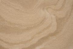 Kurven im Sand Stockbilder