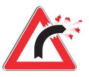 Kurven-Zeichen stock abbildung