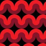 Kurvenlinie Muster lizenzfreie abbildung