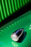 Kurvesignal des Retro- Autos Stockbilder