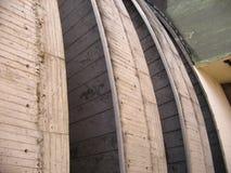 Kurvor av förstärkt betong Royaltyfria Foton