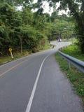 Kurvväg Arkivfoto