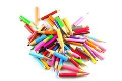 Kurze Bleistifte Lizenzfreies Stockbild