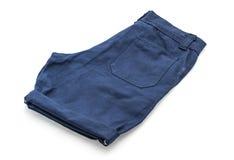 kurze Hose auf Weiß lizenzfreie stockfotografie