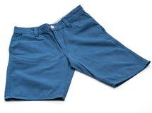 kurze Hose auf Weiß stockfotografie