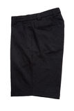 Kurze schwarze Hosen für die Männer lokalisiert Lizenzfreies Stockbild