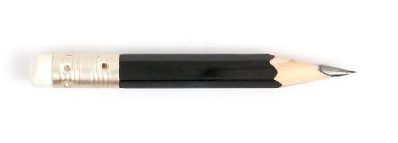 Kurzer schwarzer Bleistift Stockbild