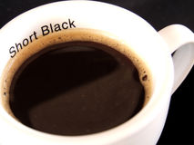 Kurzes Schwarzes Stockfotografie