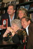 Kus, Beau Bridges, Lucinda Bridges, Jeff Bridges, Dorothy Bridges royalty-vrije stock afbeelding