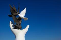 kusadasi纪念碑和平 免版税图库摄影