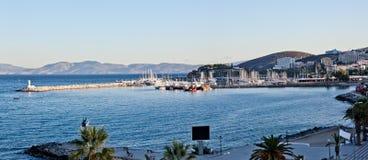 Kusadasi. TURKEY - SEPTEMBER 29: Early morning in tourist resort on Turkey's Aegean coast on September 29, 2011 in Stock Photos