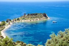 Kusadasi, bird island Royalty Free Stock Photography