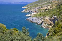 Kusadasi coastline in Turkey Stock Photography