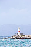 Kusadasi lighthouse Royalty Free Stock Images